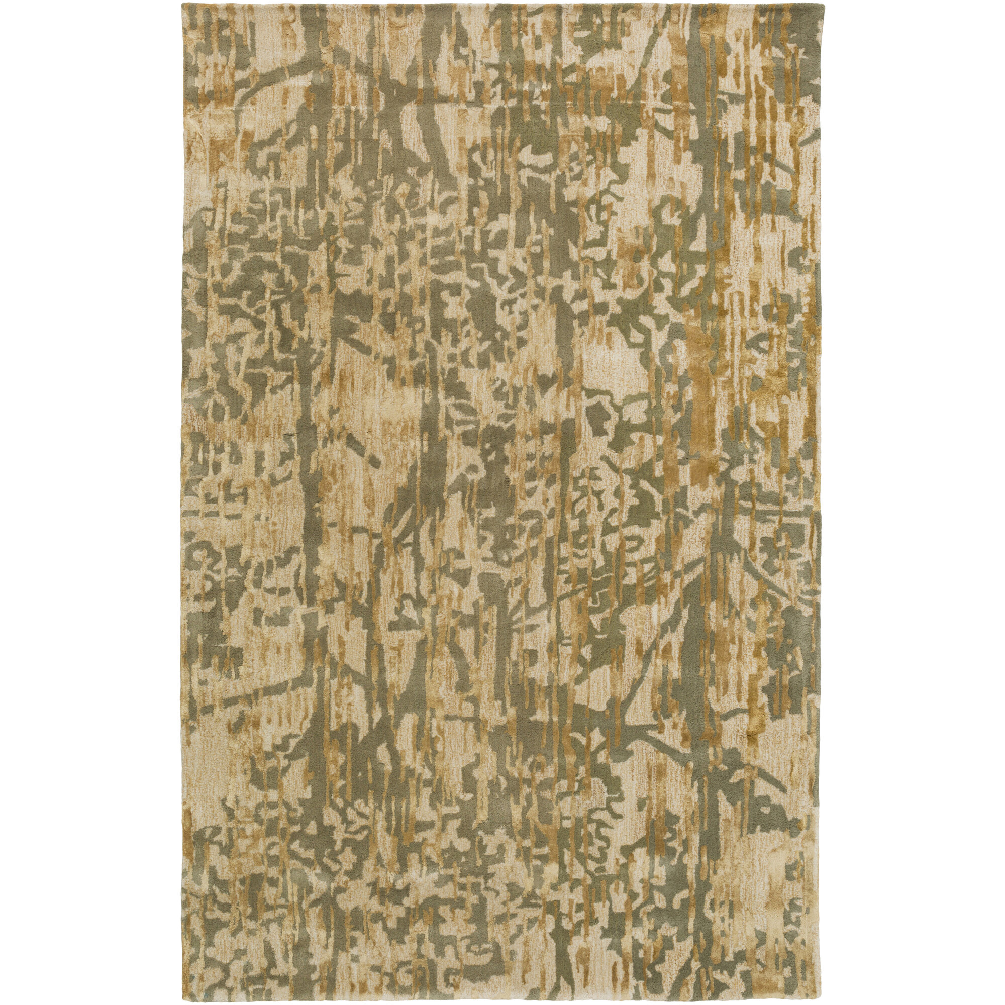 Candice Olson Rugs Zephyr Hand Tufted Green Brown Area Rug Ebay