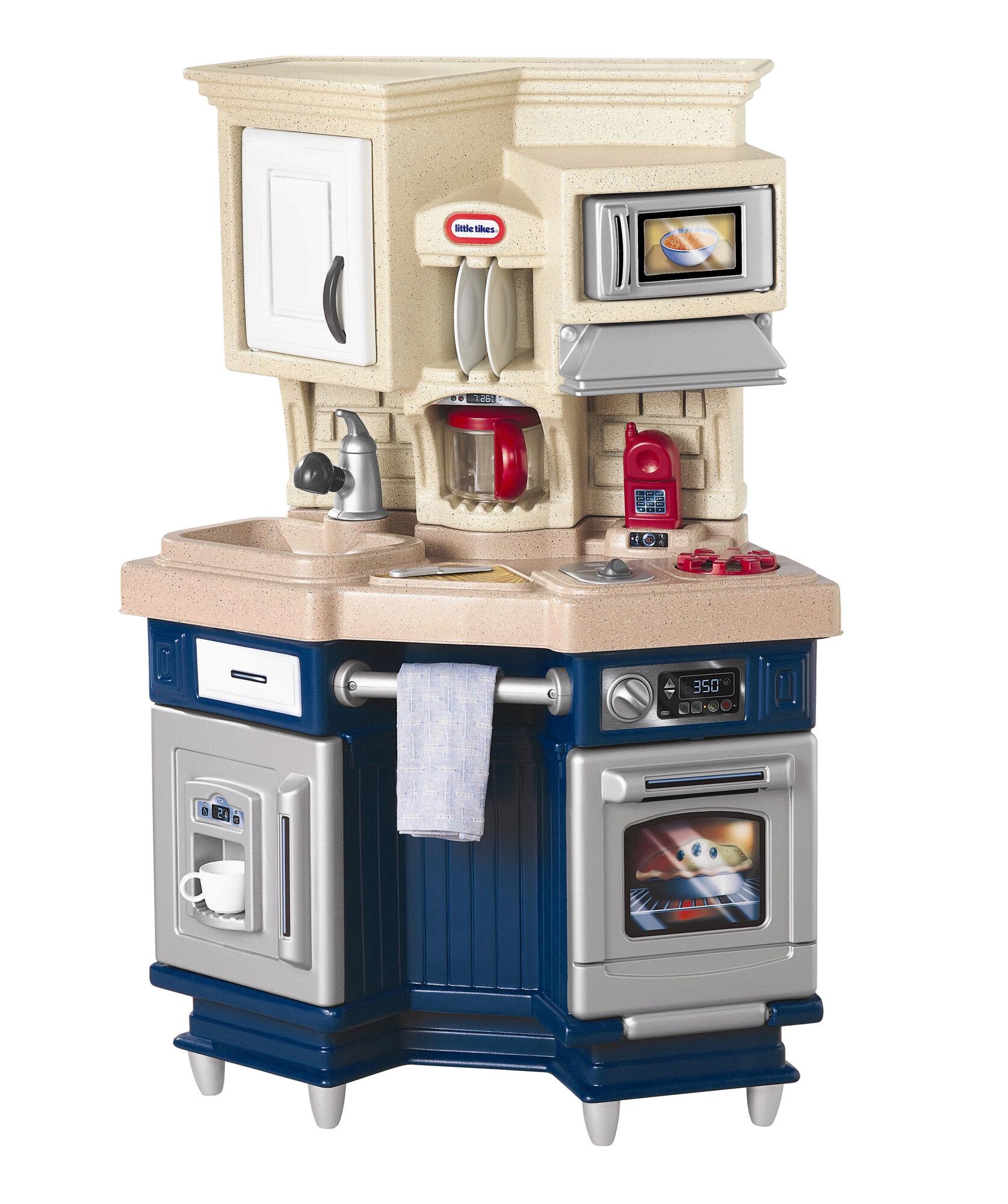 Little Tikes Role Play Super Chef Kitchen Ebay