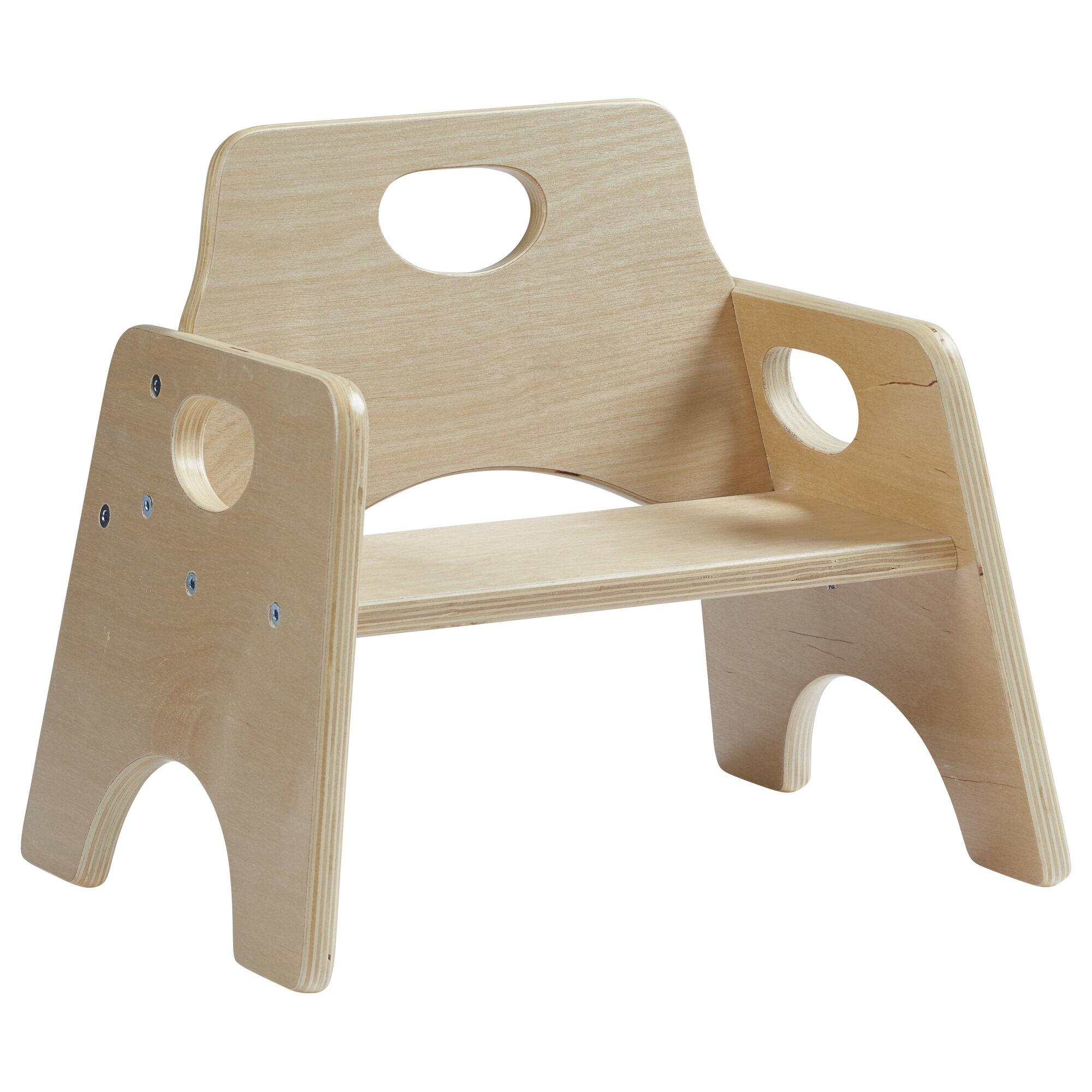 ECR4kids Wooden Kids Novelty Chair Set Of 2