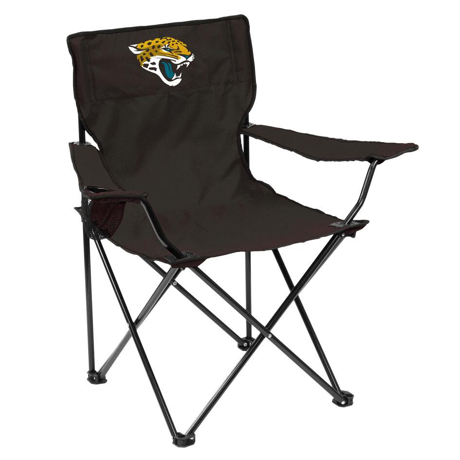 Admirable Details About Logo Brands Jacksonville Folding Camping Chair Machost Co Dining Chair Design Ideas Machostcouk