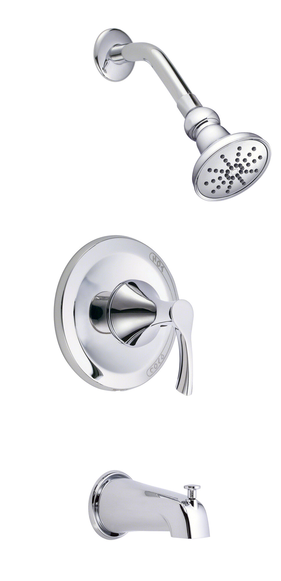Danze D500022T Antioch 1-handle Tub and Shower Faucet Trim Kit in ...