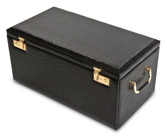 Morelle Company Leather Jewelry Box eBay