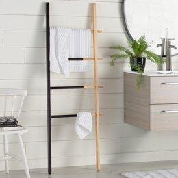 bathroom storage. Decorative Ladders Bathroom Storage  Organization You ll Love Wayfair