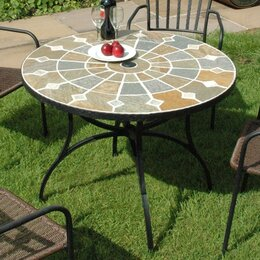 metal garden tables - Garden Furniture Metal