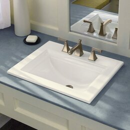 Bathroom sinks you 39 ll love wayfair for How much to install a bathroom vanity and sink