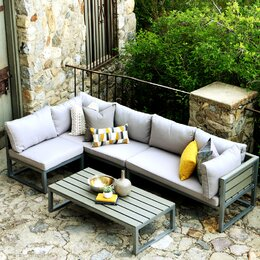 Outdoor Furniture AllModern - Outdoor lounge furniture