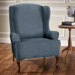 wing chair slipcovers furniture covers for chairs s
