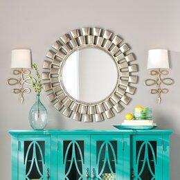 Turquoise Wall Mirror mirrors you'll love | wayfair