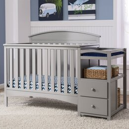 Captivating Crib U0026 Changing Table Combo