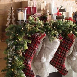 Christmas Wreaths and Christmas Garlands You'll Love | Wayfair