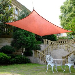 Great Over Sized Garden Patio Sails, Really Good Price And Good Quality. As  Far As Installation That Is My Husbandu0027s Department, But He Did It Very  Fast So ...