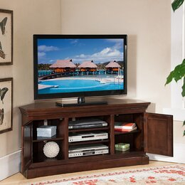 Corner TV Stands  Flat Screen You ll Love