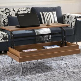 side table living room. Lift Top Coffee Tables You ll Love  Wayfair