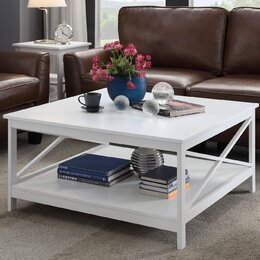 table in living room. Square Coffee Tables You ll Love  Wayfair