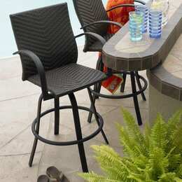 Patio Bar Bar Height Furniture Wayfair