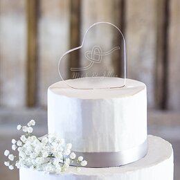 Wedding decorations youll love wayfair wedding cake toppers junglespirit Image collections