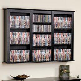 Cd Dvd Media Storage You 39 Ll Love Wayfair