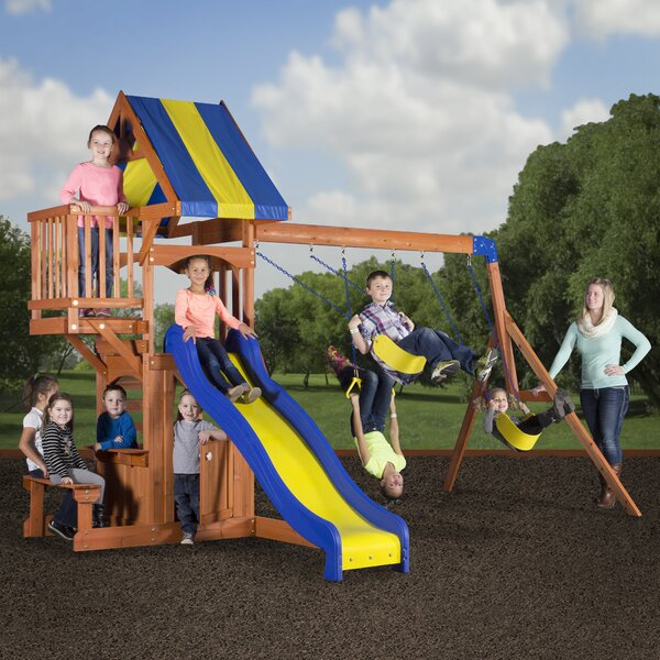 Swing Sets Amp Playsets You Ll Love Wayfair