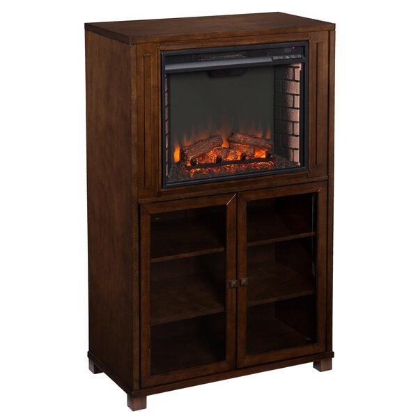 Stella Storage Tower Electric Fireplace Joss Main