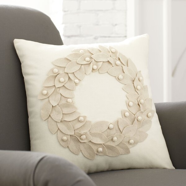 Birch Lane Vienna Wreath Pillow Cover Amp Reviews Birch Lane