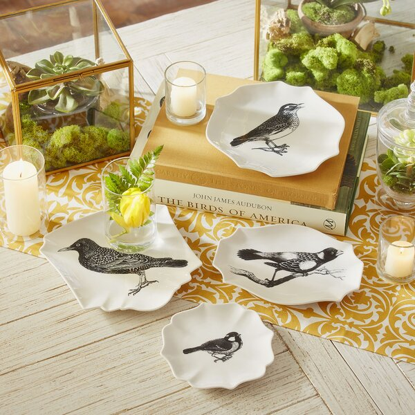 Birch Lane Decorative Bird Plates Amp Reviews Birch Lane
