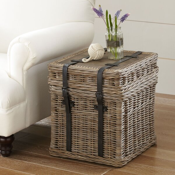 Birch Lane Jenkins Rattan Side Table Amp Reviews Birch Lane