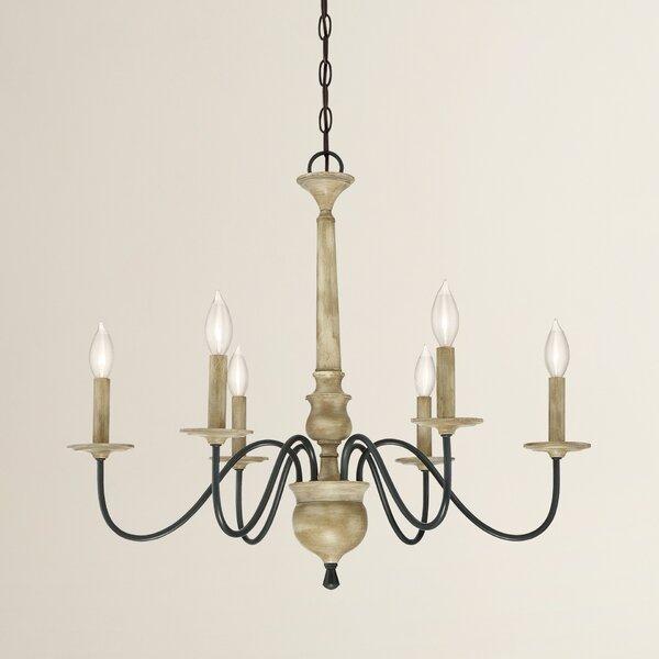 Birch Lane Edson 6 Light Candle-Style Chandelier & Reviews | Birch Lane