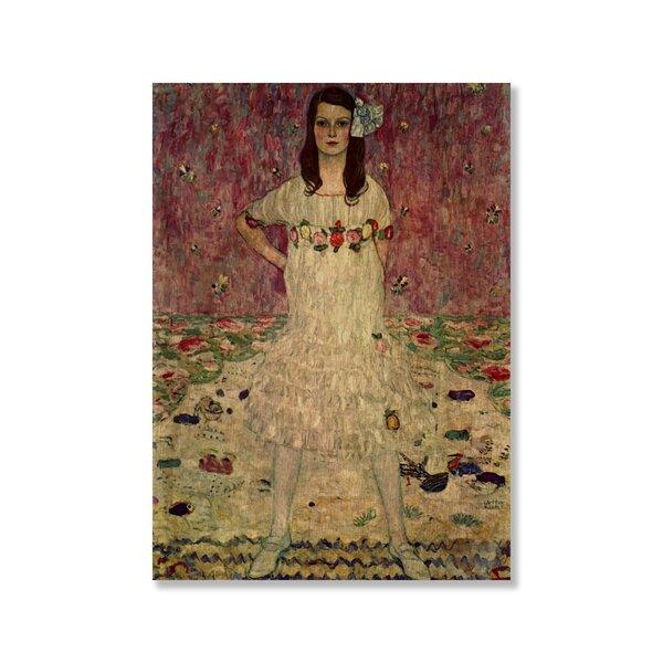 Eugenia Primavesi by Gustav Klimt Painting Print   Joss & Main