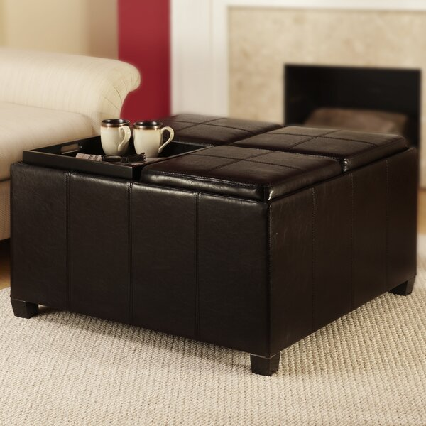 Three Posts Polycarp Storage Ottoman Reviews: Lorna Cocktail Storage Ottoman & Reviews