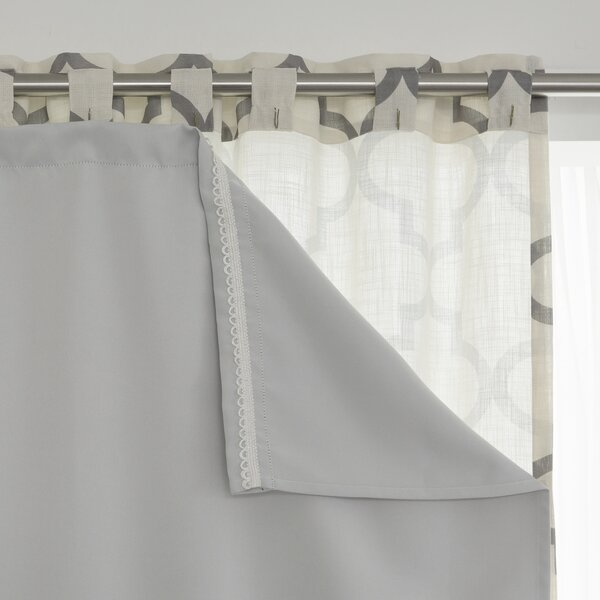 Curtains Ideas curtain liner blackout : Jim Blackout Curtain Liner Pair & Reviews | Joss & Main