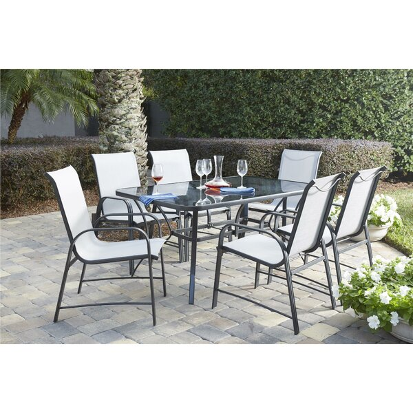 bellingham 7 piece patio dining set reviews joss main