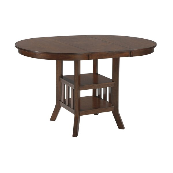 Louisa counter height extendable dining table reviews for Counter height extendable dining table