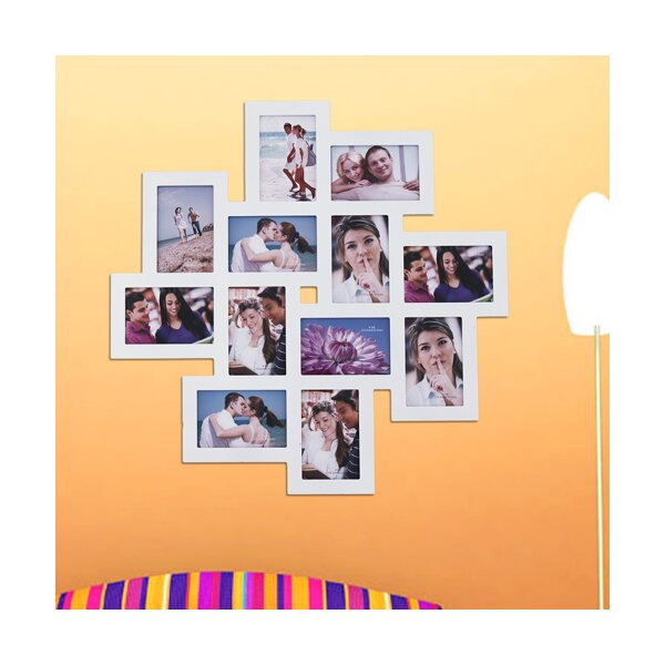 ... Arthur 12 Opening Wood Photo Collage Wall Hanging Picture Frame