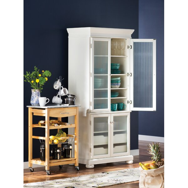 Finn Kitchen Cart with Granite Top