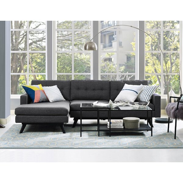 Blake 103quot sectional reviews joss main for Sectional sofa 103