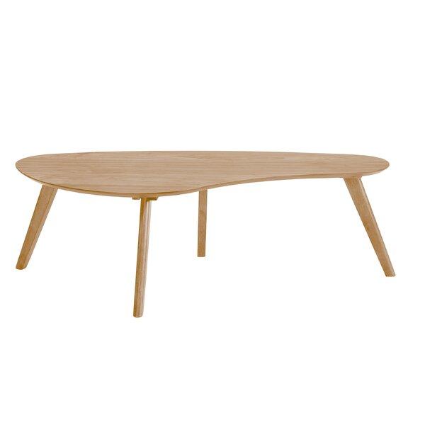 Umstead Oval Engineered Wood Coffee Table: Georgia Coffee Table & Reviews