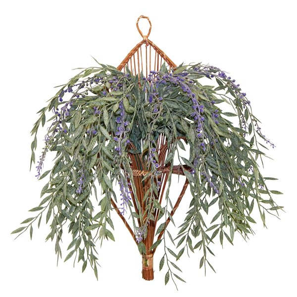 Faux Mixed Weeping Willow Hanging Plant & Reviews