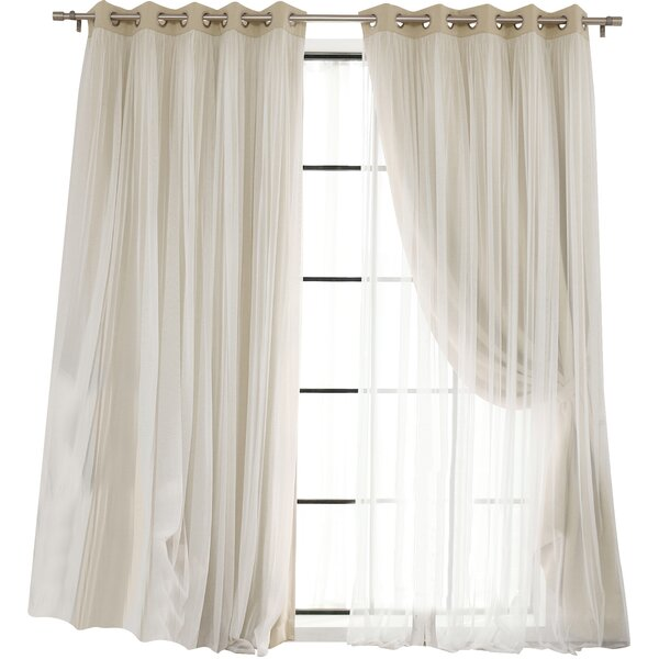 Anabelle Thermal Blackout Energy Efficient Grommet Curtain Panel ...