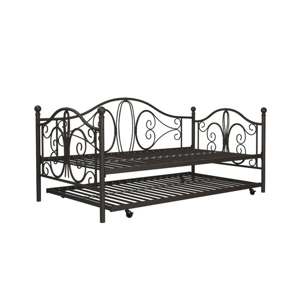August Grove Baleine Daybed With Trundle Amp Reviews Birch