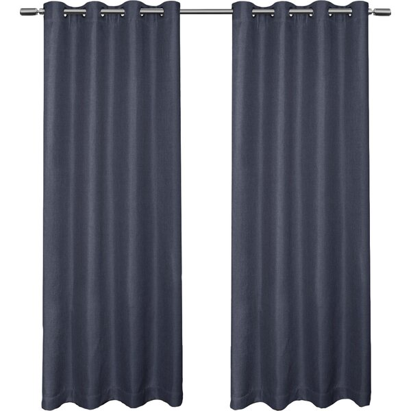 Skyline blackout grommet curtain panel joss main Blackout curtains city skyline