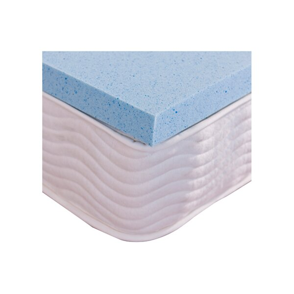 Gel Memory Foam Mattress Topper & Reviews