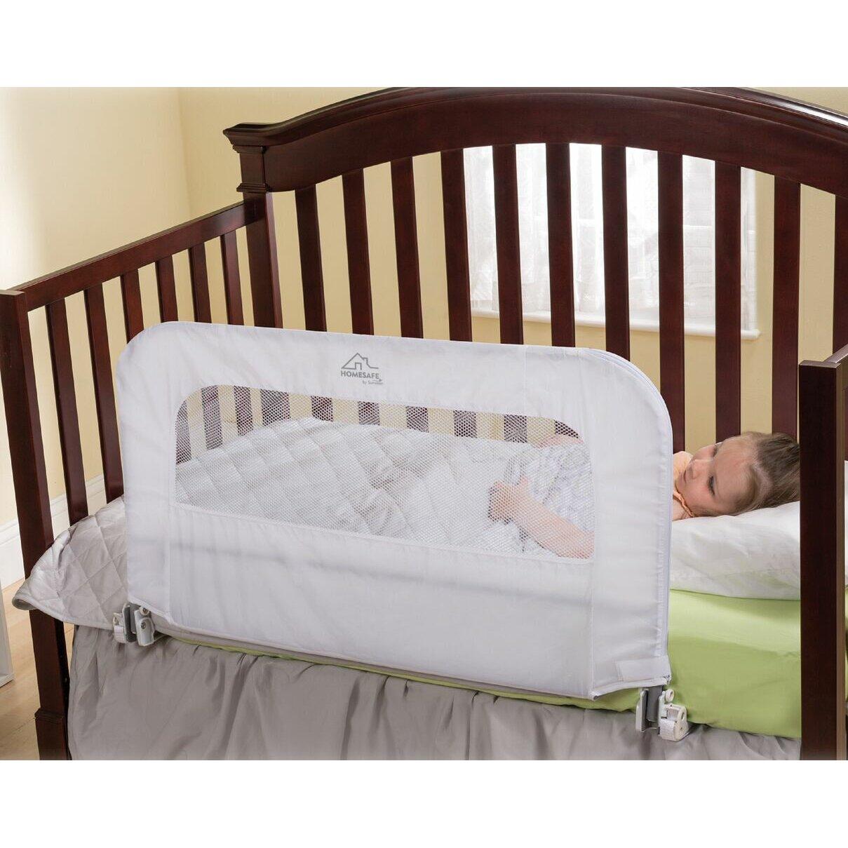 Baby bed rails - Summer Infant Home Safe Mesh Safety Rail