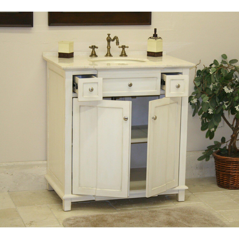 whitewash bathroom vanity ~ dact