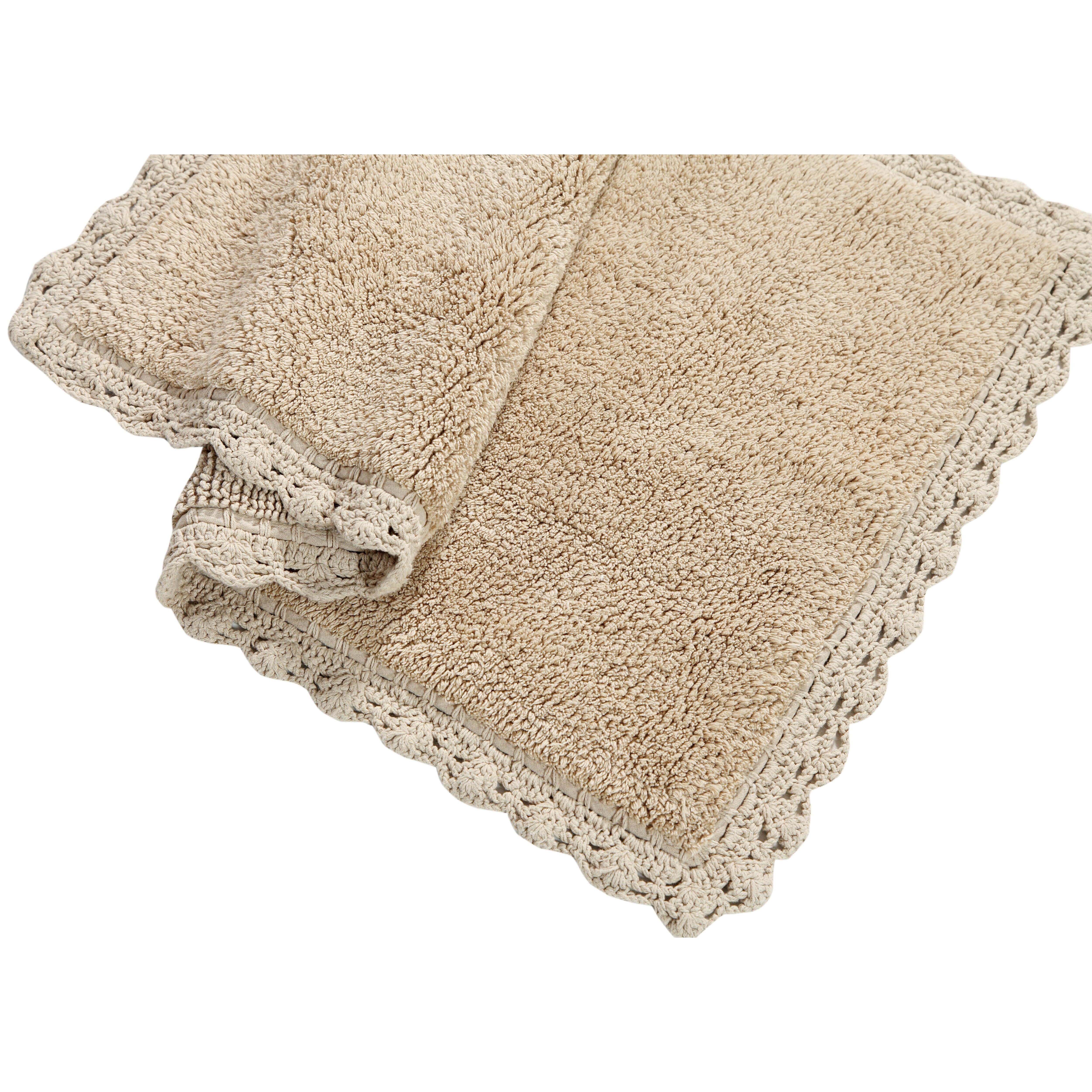 Bathroom Rugs Set Chesapeake Crochet 2 Piece Bath Rug Set Reviews Wayfair