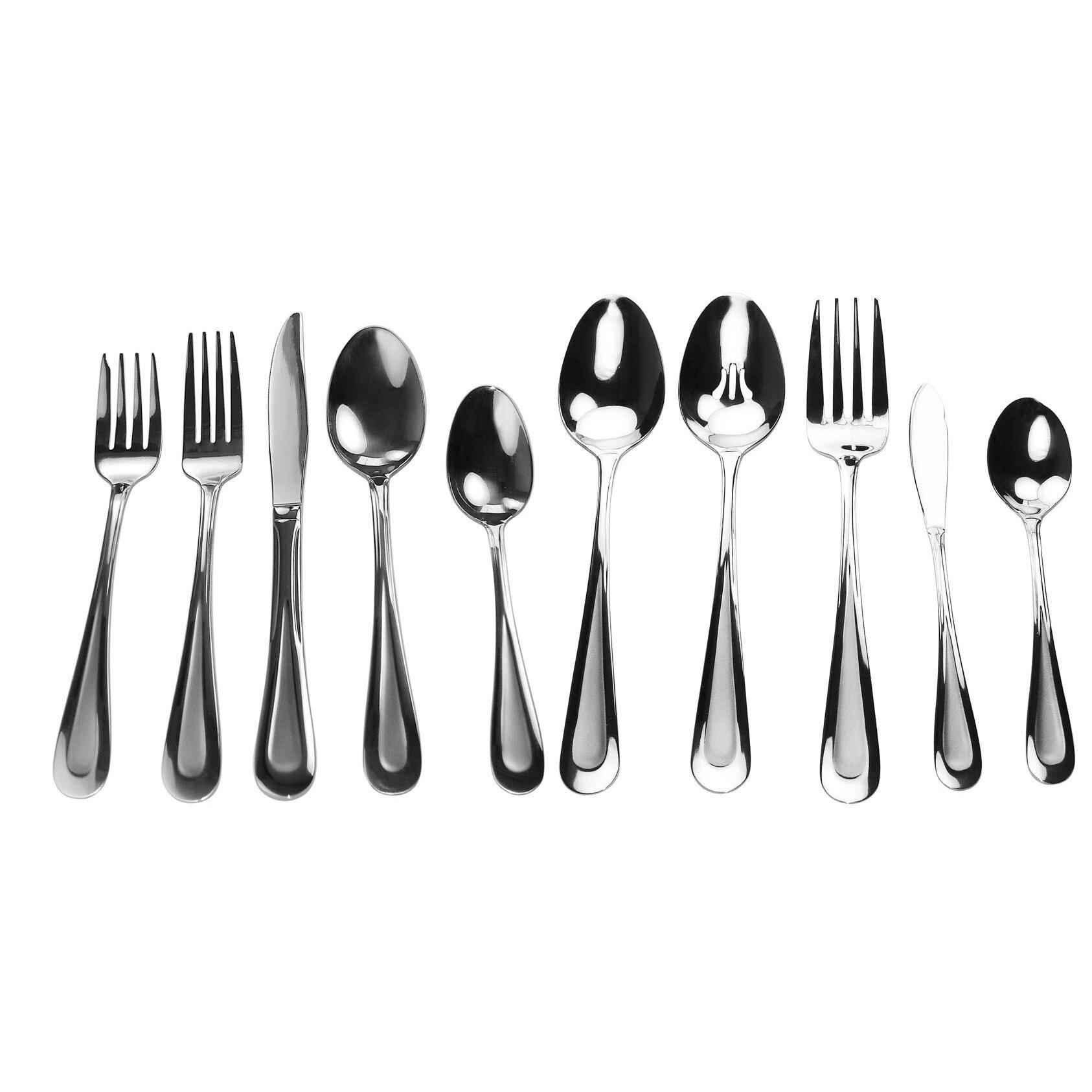 David shaw silverware splendide ruse 45 piece flatware set reviews wayfair - Splendide flatware ...
