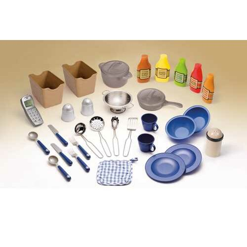 Step2 Lifestyle Partytime Kitchen: Step2 LifeStyle 33 Piece Party Time Kitchen Set & Reviews