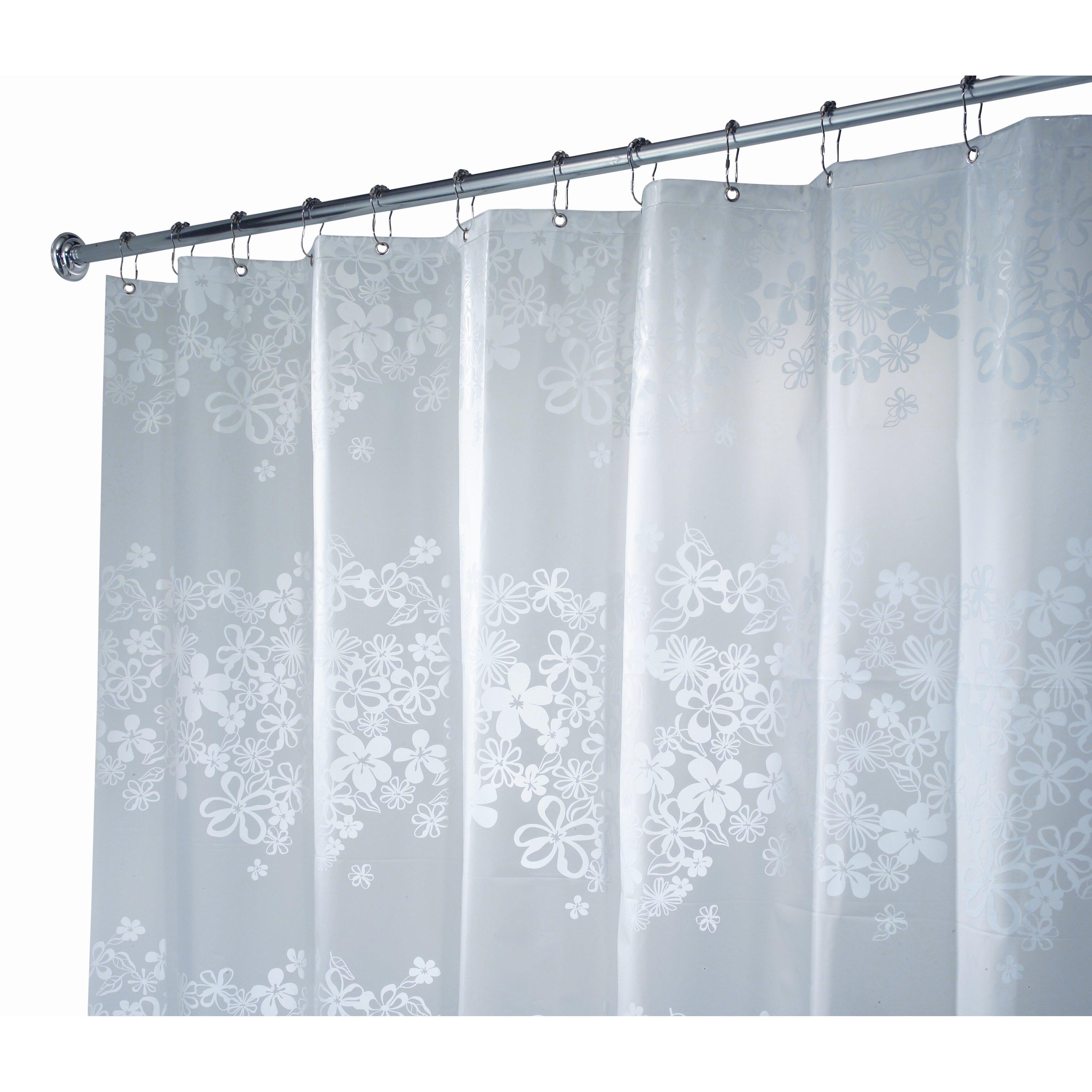Interdesign eva vinyl shower curtain reviews wayfair for Vinyl window designs complaints