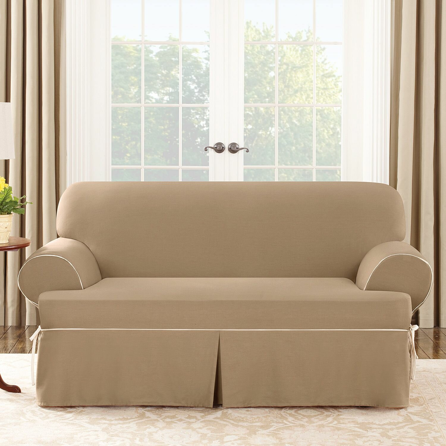 Love Seat Slip Covers Velcromag