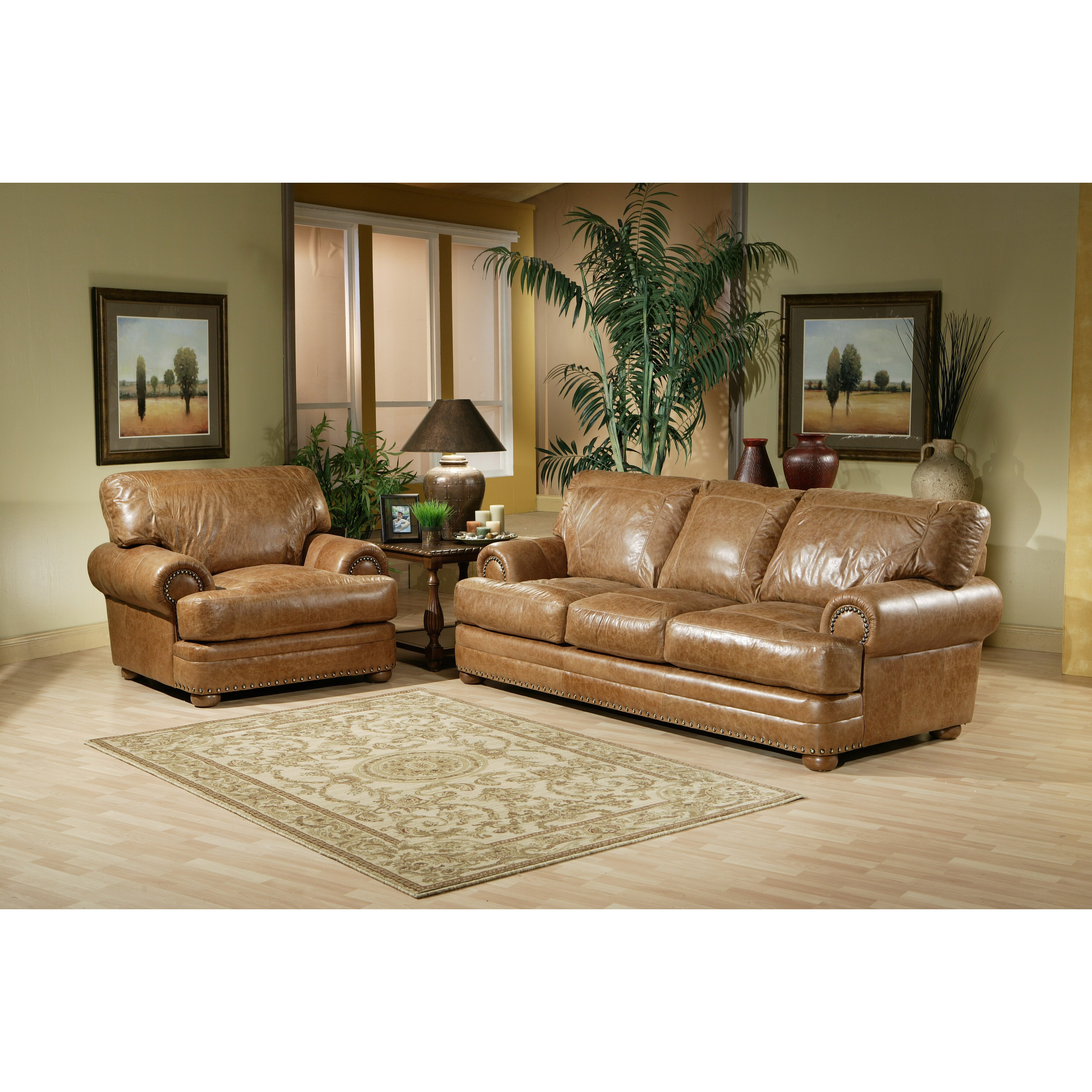 Leather Living Room Sets For Omnia Leather Houston Leather Living Room Set Reviews Wayfair