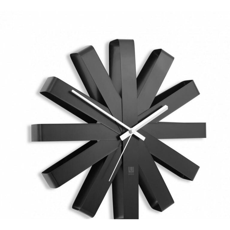 ribbon 12 wall clock - Designer Kitchen Wall Clocks